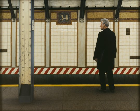 My Father in the Subway III