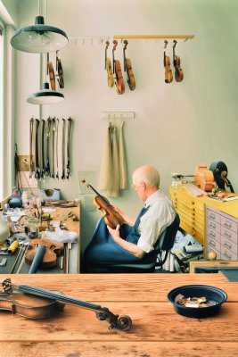 Violin Repair Shop
