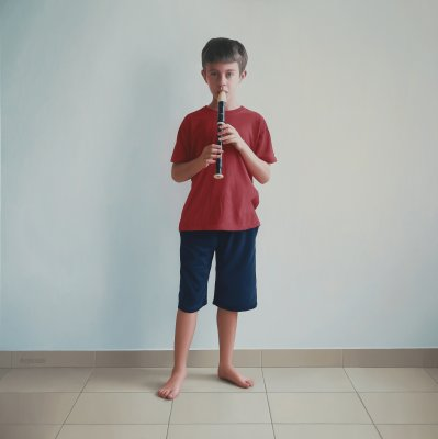 Daniel with Recorder
